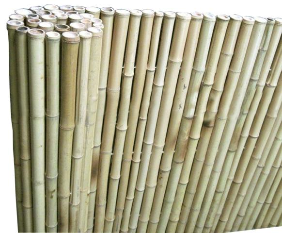 Bamboe matten naturel