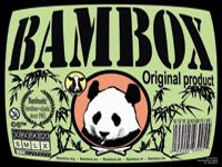 Bamboestiek pakket met stokjes en elastieken.