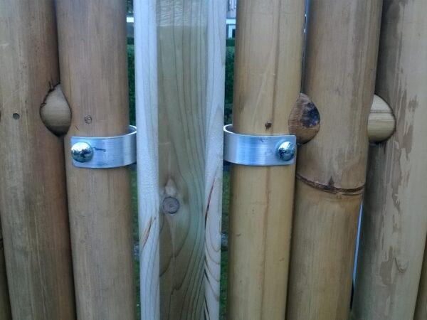 RVS bamboe klemmen set