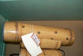 Bamboelamp liggend (56cm)
