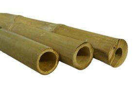Indonesische bamboepalen naturel