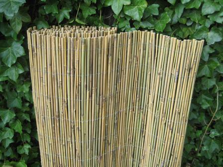 Bamboemat oriental naturel.