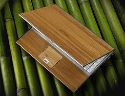 bamboe design laptop.