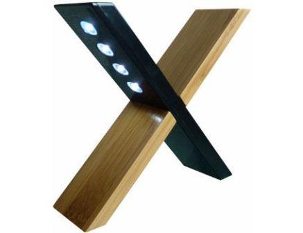Bamboe solar lamp Sfynx
