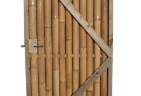 Bamboepoortdeur Giant.