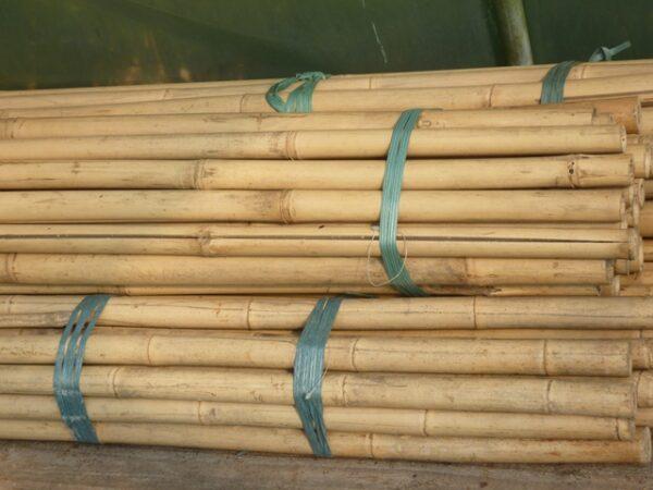Bamboestokken naturel tot Ø 3cm