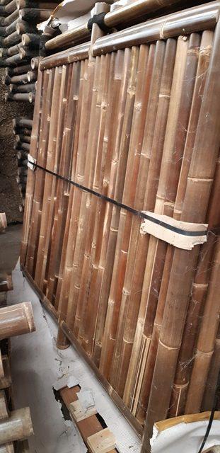 bamboescherm Kyoto zwart