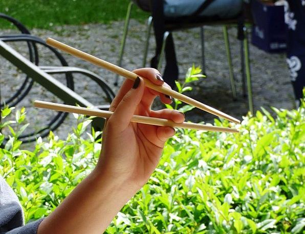 Bamboe eten