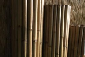 Bamboemat Deluxe naturel