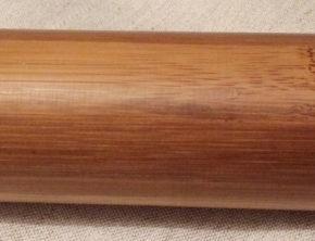 Bamboe massagestokken massief