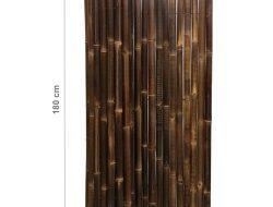 Bamboemat Deluxe zwart