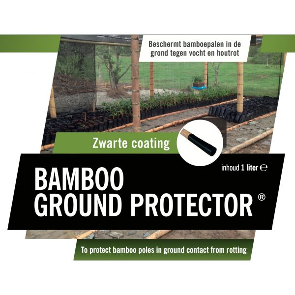 bamboo ground protector.