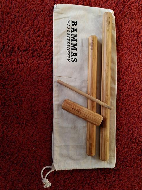 Bamboe massage set Detail 4