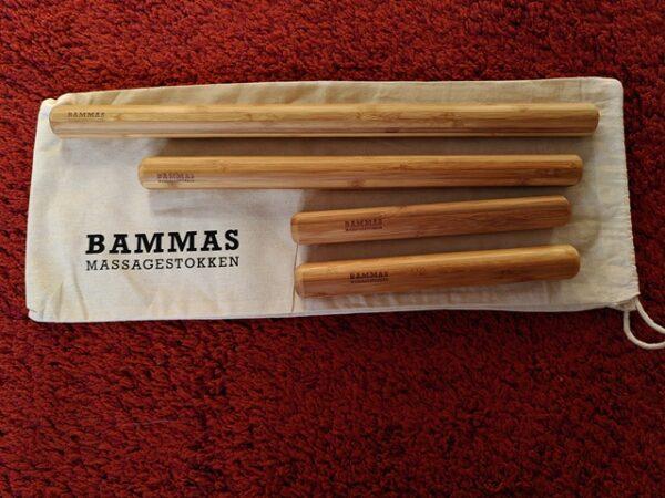 Bamboemassage set Warmte 4