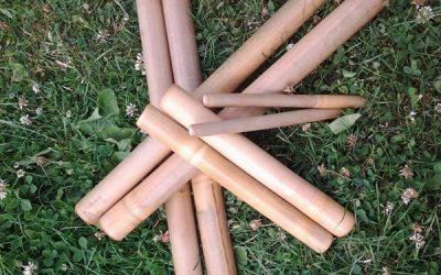 Bamboe massage sets